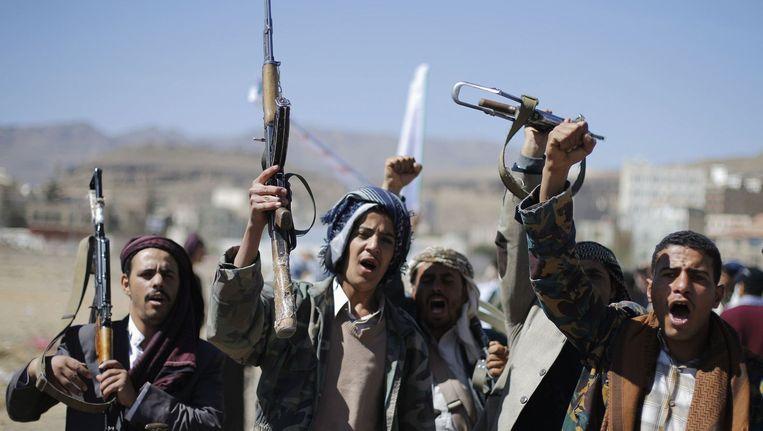 Rebellen in Jemen Beeld reuters