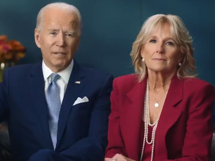 Le message poignant de Joe et Jill Biden pour Thanksgiving