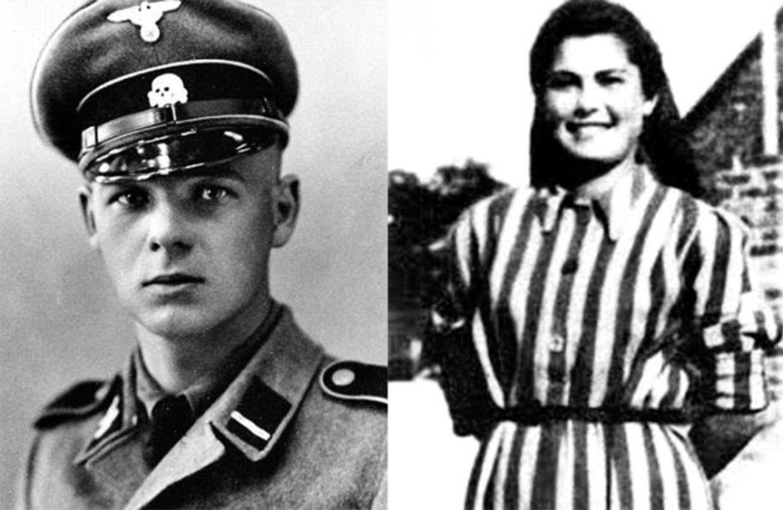 SS-Rottenführer Franz Wunsch, een van de kampbeulen van Auschwitz. De Joodse Helena Citrónová was 21 toen ze naar het concentratiekamp werd gedeporteerd.  Beeld rv