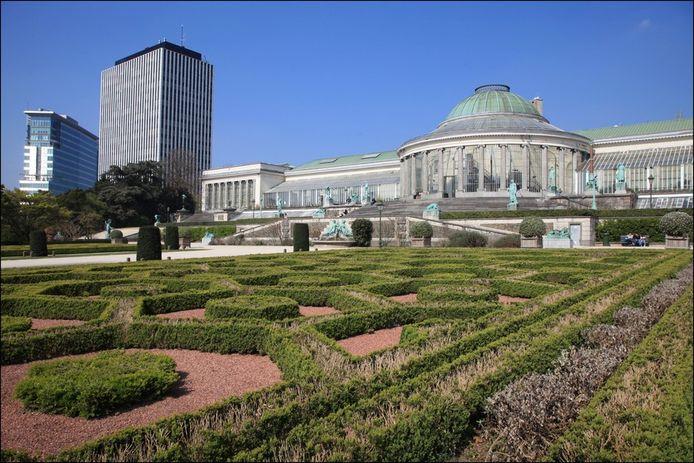 Le parc du Jardin botanique, siège culturel de la Fédération Wallonie-Bruxelles
