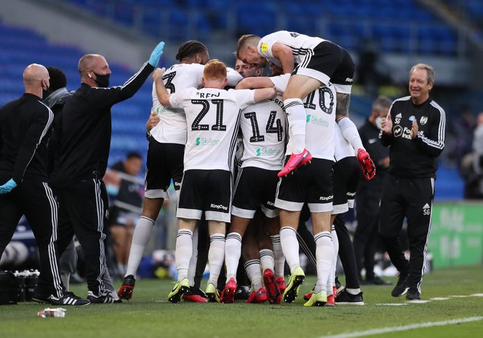 Fulham viert feest.