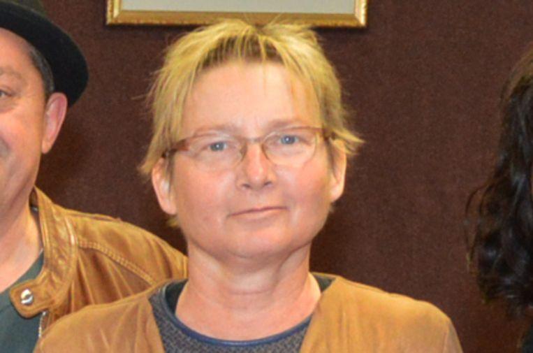 Marleen Buydens eind 2018, toen ze afscheid nam als gemeenteraadslid in Denderleeuw.
