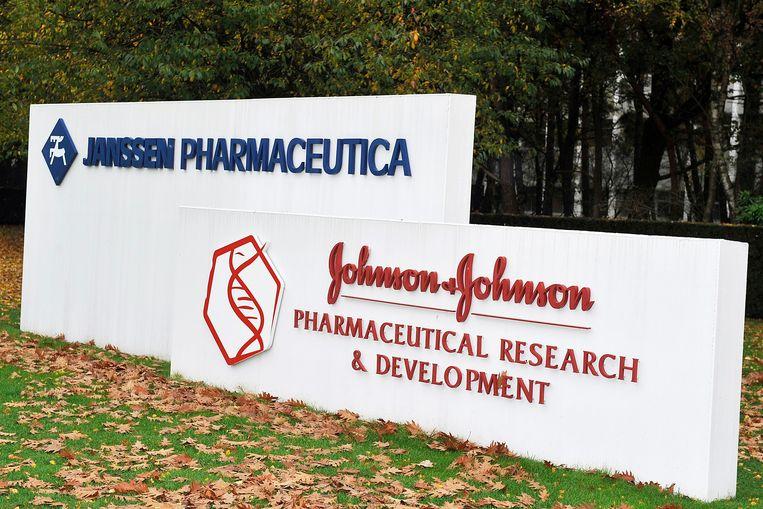 De farmareus met Belgische roots Johnson & Johnson kijkt aan tegen verschillende rechtszaken. Beeld BELGA
