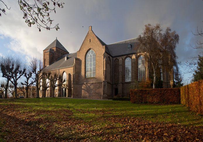 De winnende foto van de kerk van Raamsdonk.