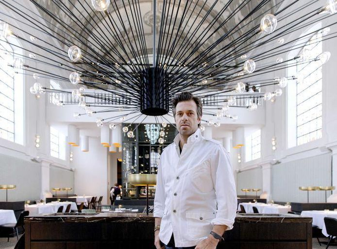 "Sergio Herman du prestigieux restaurant ""The Jane"" à Anvers"