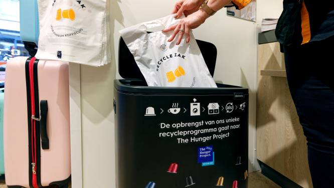 De grijze afvalbak kan nóg leger: aluminium koffiecups naar de inzamelbak bij Blokker
