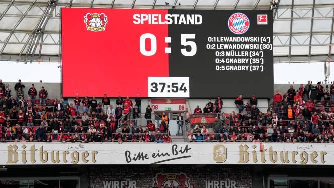 Bayern München zet record neer in Leverkusen, maar doet het daarna rustig aan tegen Bakker en Frimpong