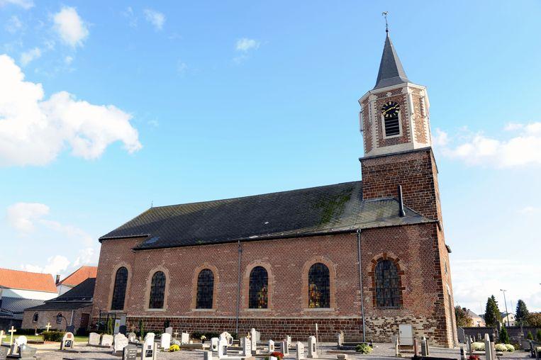 De kerk van Ottenburg.