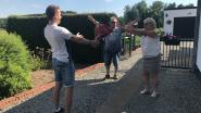 Limburgers meteen op bezoek bij familieleden over de grens
