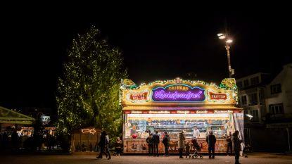 Nieuwjaarsnacht op de Grote Markt in Genk