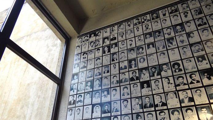 Het herdenkingsmuseum in Addis Abeba voor de slachtoffers van de Rode Terreur in Ethiopië.