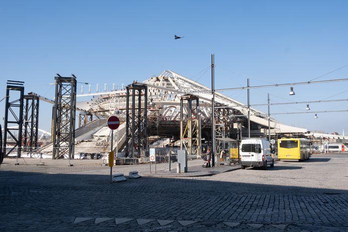 Prévue pour 2015, la nouvelle gare de Mons n'a toujours pas été inaugurée.