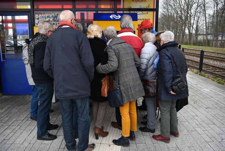 In 2006 was het een zeldzaamheid dat werknemers na hun 65ste nog werkten.  Beeld Marcel van den Bergh / de Volkskrant