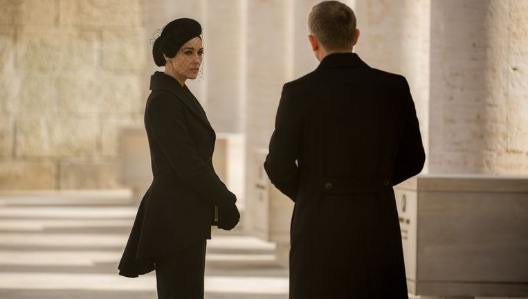 Monica Bellucci en Daniel Craig in Spectre. Beeld Jonathan Olley