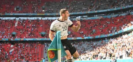 Duitsland sloopt Portugal in weergaloos EK-duel in München, glansrol voor Robin Gosens