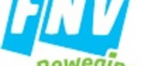 FNV-actie in Zwolle voor metaalsector