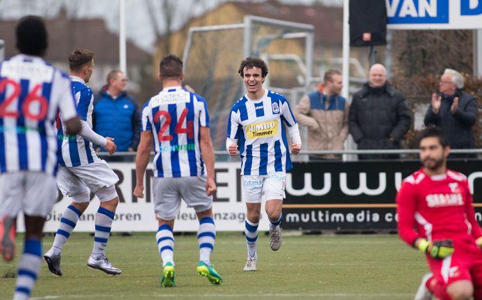 Mo Bendadi in zijn tijd bij FC Lienden.