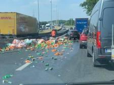 En pleine chaleur, des automobilistes coincés sur l'autoroute à cause de... canettes de soda