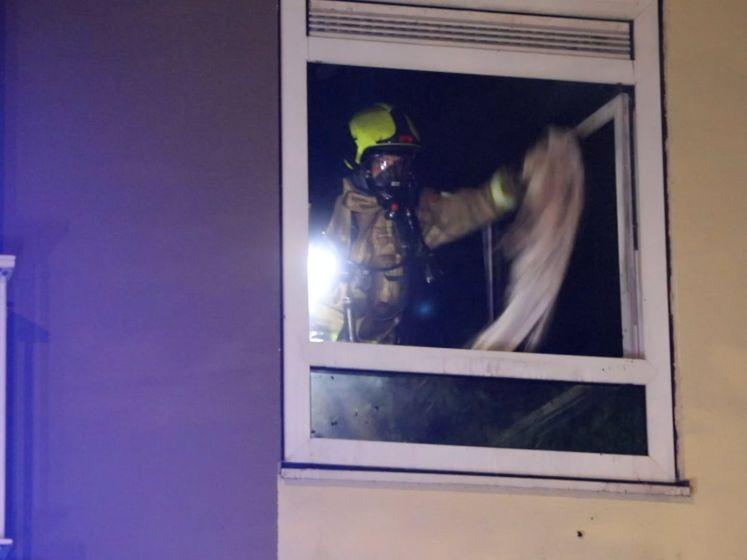 Twee gewonden bij slaapkamerbrand