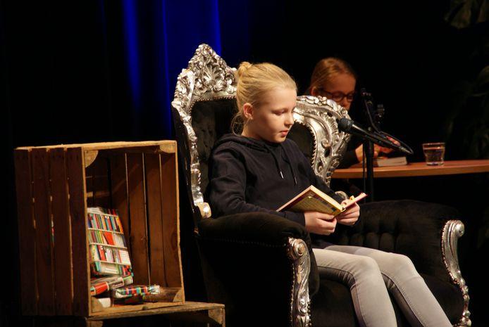 Voorleeskampioen Mathilde van Agthoven
