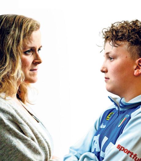 Moederhart Heidi huilt, zoon Robin (14) verliest 'thuis' in Hoenderloo