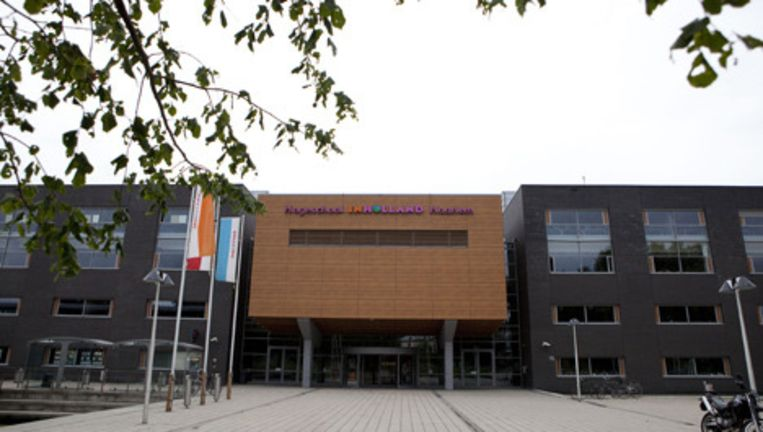Exterieur van Hogeschool INHolland in Haarlem. Foto ANP Beeld