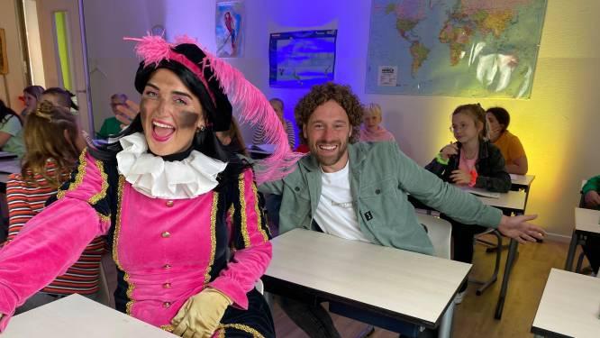 TikTok-ster Meester Jesper stapt opnieuw uit comfort zone en zingt lied met Love Piet: 'Ik hoop dat we in de Kids Top 20 komen!'