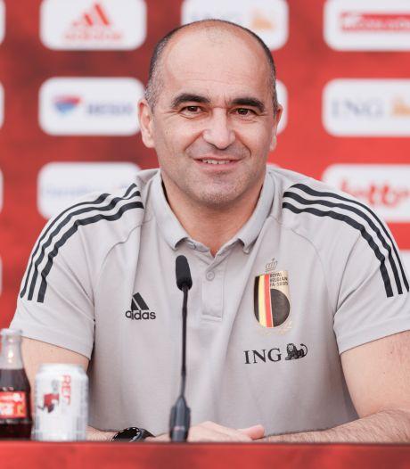 """Roberto Martinez: """"Il n'est pas prévu que De Bruyne dispute le premier match"""""""