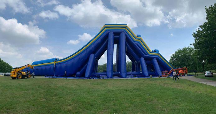 De 'Monster Summerslide', op recreatiedomein De Ster.