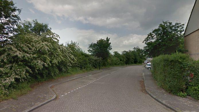 Een parkeerplaats bij de Akkerwinde in Apeldoorn