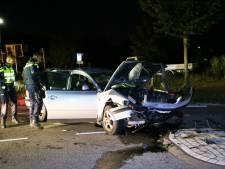Vier gewonden bij ongeval op kruising in Hapert, slachtoffers naar ziekenhuis