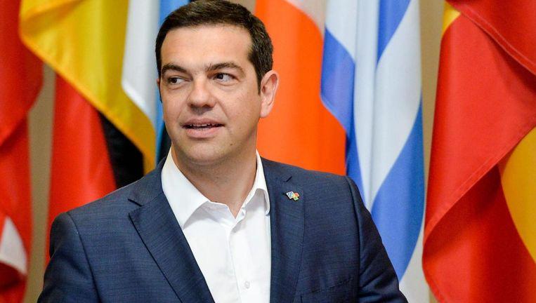 Grieks premier Alexis Tsipras Beeld RV