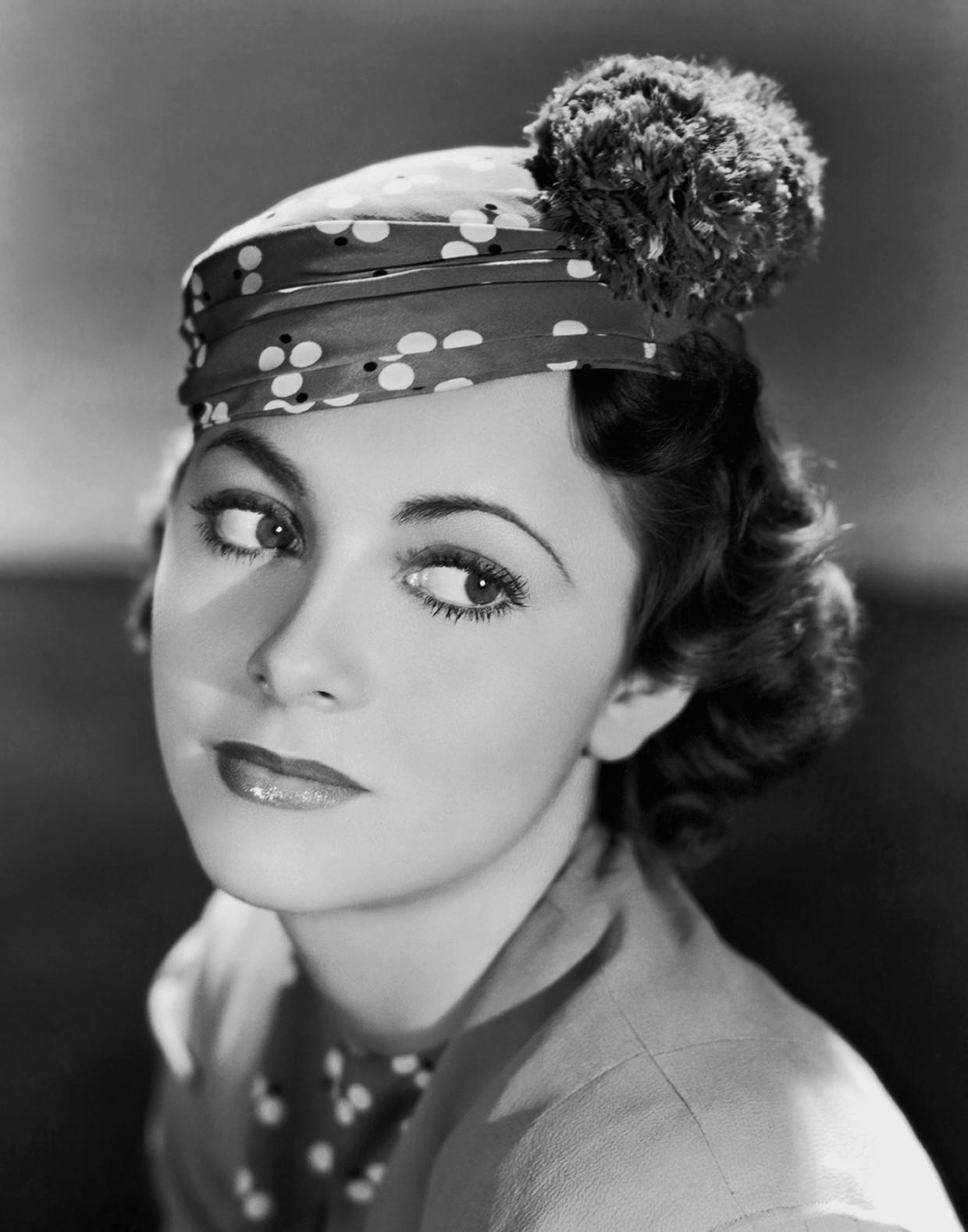 Olivia de Havilland in, vermoedelijk, 1935. Beeld Getty Images