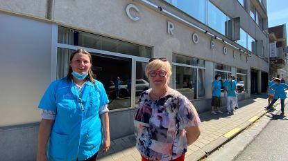 Vrijwilligster Ellen regelt optreden voor zorgpersoneel en bewoners van rusthuis Acropolys