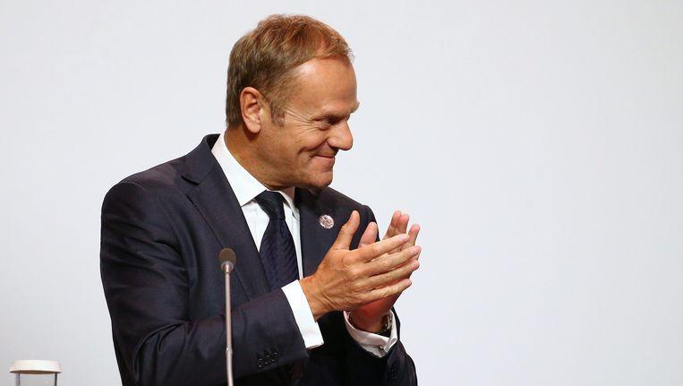 EU-president Donald Tusk. Beeld EPA