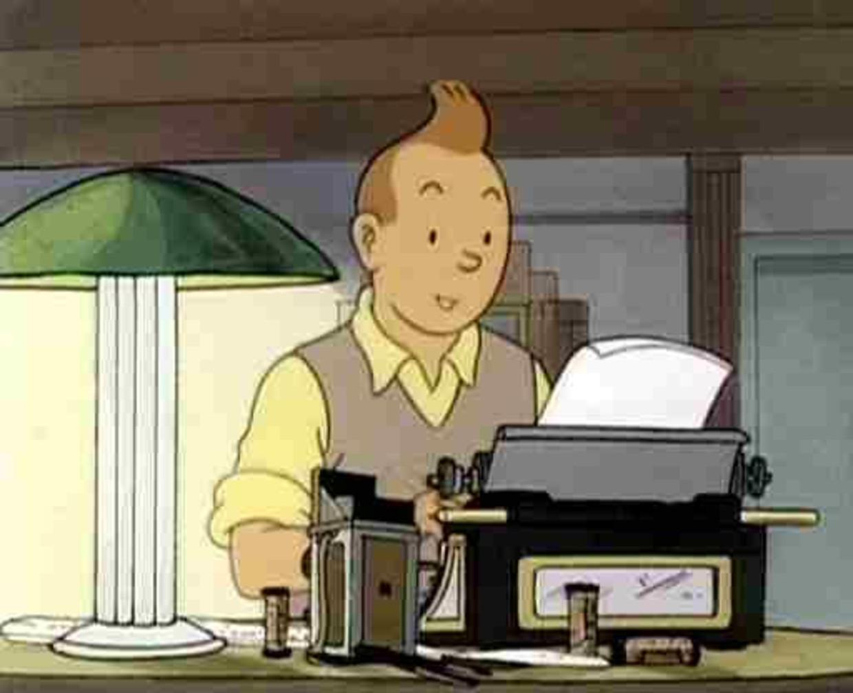 Tintin Beeld