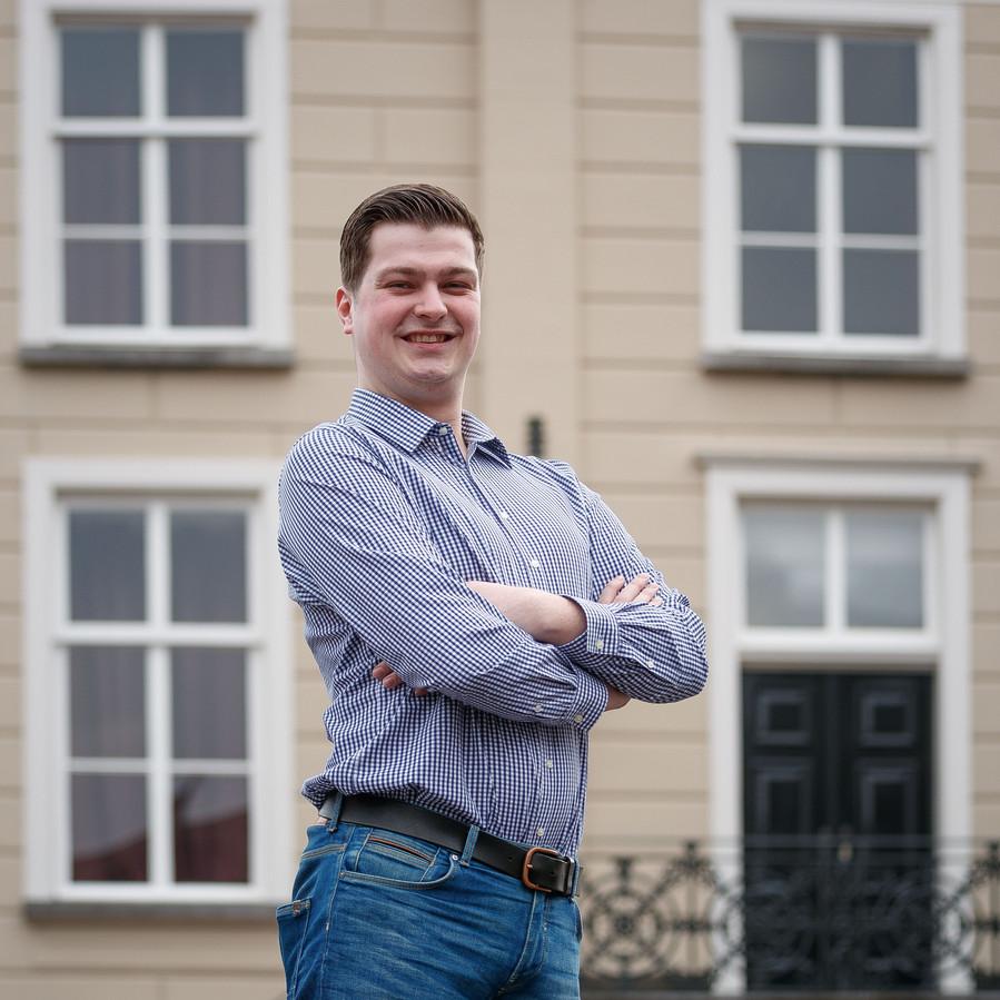 Bjorn Rommens (hier op archiefbeeld uit 2018) is het nieuwe burgerraadslid namens de PvdA in Roosendaal