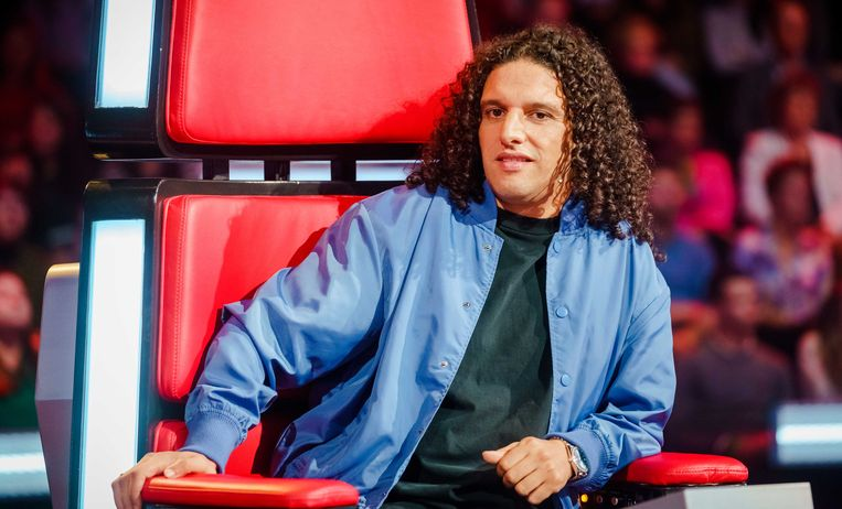 Coach Ali B in 'The Voice of Holland'. Beeld ANP