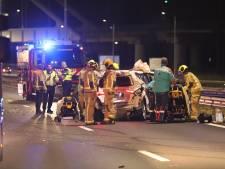 Meerdere gewonden bij aanrijding op A12