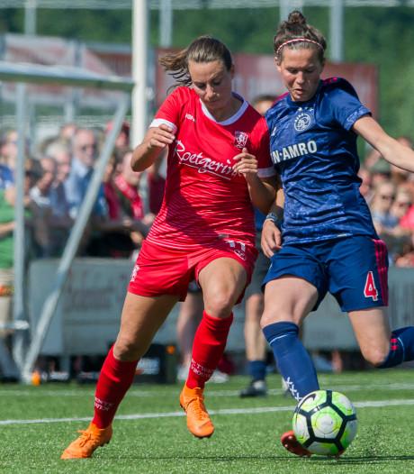 Jansen opnieuw belangrijk voor FC Twente Vrouwen: 2-2 tegen Ajax
