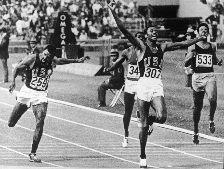 Tommie Smith Beeld UNKNOWN