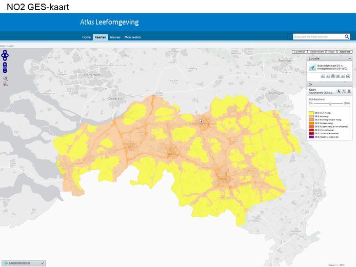 De provincie Noord-Brabant heeft als eerste online gezondheidskaarten beschikbaar gesteld.