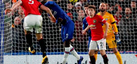 Strijd om plek 4 helemaal open na zege United bij Chelsea