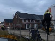 Politie zet helikopter in voor verdachte situatie op bouwplaats