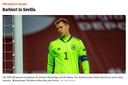 Der Spiegel spreekt van een debacle in Sevilla.