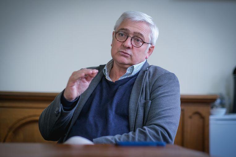 Pierre Lemarchand: 'De ramp zou een opportuniteit kunnen zijn om van Wallonië een topregio te maken. Maar we hebben te weinig geld voor een snelle heropbouw.'  Beeld Wim Van Cappellen