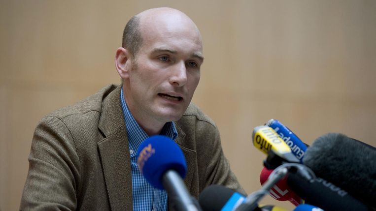 De Franse journalist Nicolas Hénin werd van juni 2013 tot april 2014 gegijzeld door Islamitische Staat. Beeld francetvinfo.fr