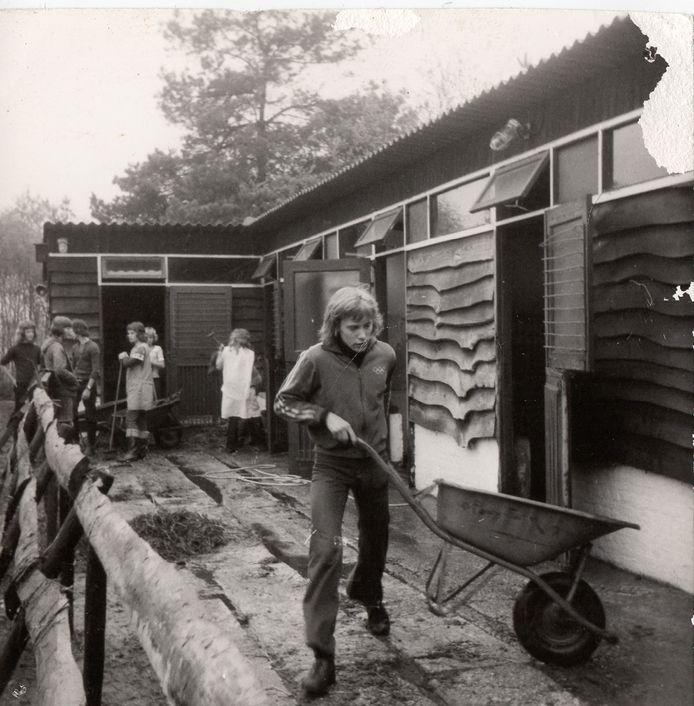 Lid zijn van de Ponyfarm betekende ook de handen uit de mouwen steken.