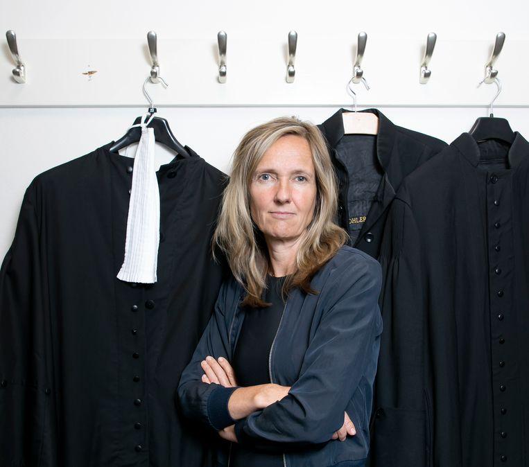 Advocaat Liesbeth Zegveld. Beeld Judith Jockel