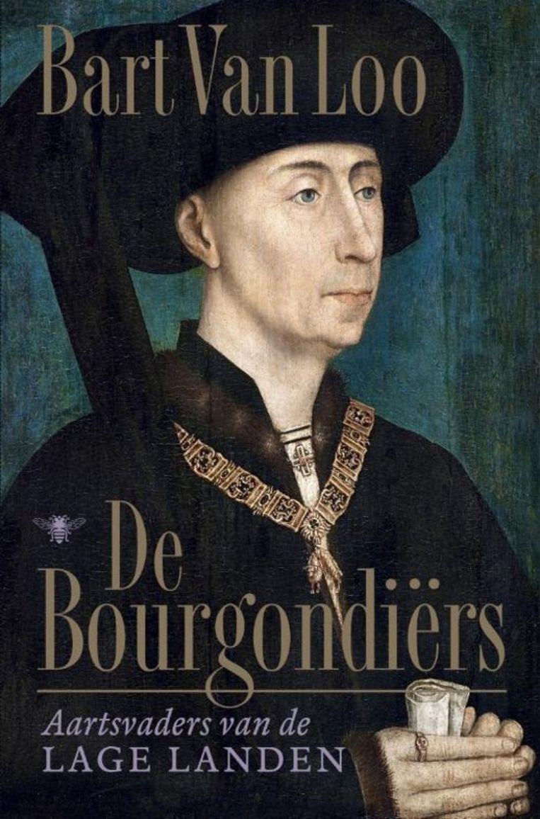 Portret van Filips de Goede op de cover van 'De Bourgondiërs'. Beeld De Bezige Bij
